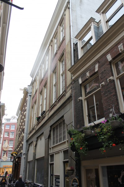 Gevel in de Gravenstraat.