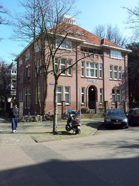 Honthorststraat, architect Elte, 1912.